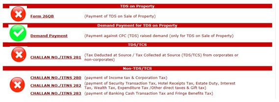 Payment against TDS Defaults